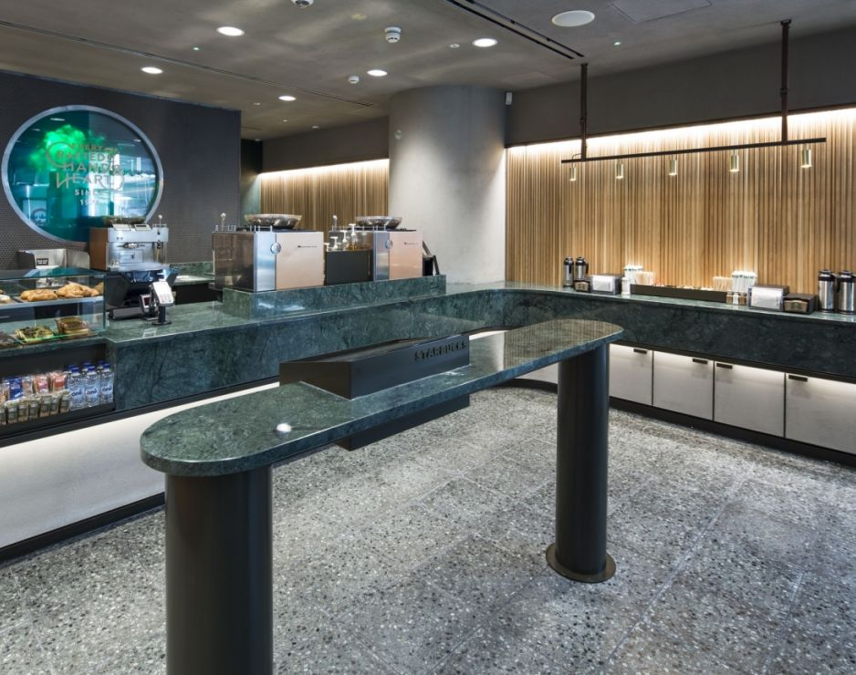 Starbucks Opens First European Express Store in London