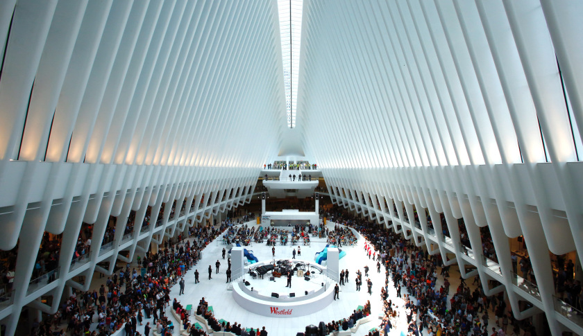 Westfield World Trade Centre Opens to the Public